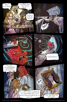 Steam Powered Giraffe Page 030 by BunnyBennett