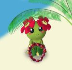 Bellossom's Candy lei offering by Polynesiangirl