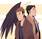 spn jeanmarco crossover by Sydesu