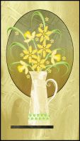 Daffodil Pitcher by rockgem