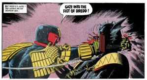 Gave Into The Fist of Dredd! by MALTIAN