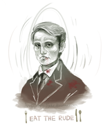 Eat the Rude by Simply-Psycho