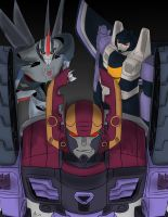 Transformers Formspring Trinity by ConstantM0tion