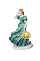 Porcelain Victorian Figurine Stock Photo 0194 PNG by annamae22