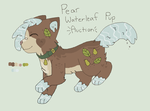 Pear Waterleaf Pup Auction // CLOSED by catpaths