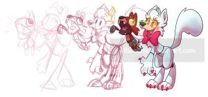 Mangle the Ventriloquist 2.0 by albadune