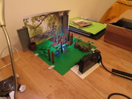 LEGO DOOM: MARS IN BRICKS The Filming has Started! by Digger318