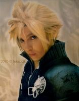 FF AC: Cloud Strife by Feiuccia