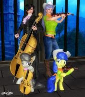 Tavi and Fiddles by Axel-Doi