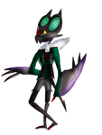 Anthroified Noivern by laopokia