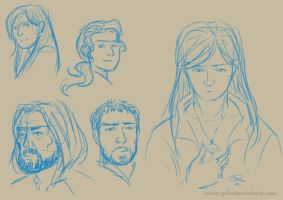 Sketchy Characters 1 by Pretty-Angel
