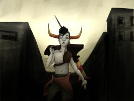 Tavros Fallout by that-duck-witha-hat