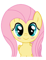 Kawaii Fluttershy by Vocapony