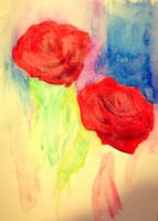 Abstract Roses by likesinkingships