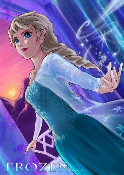 Frozen FA : Elsa by Konna00