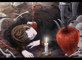 Light Yagami : Trapped in Shinigami World by ForeverMedhok