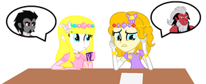 Worst Enermies for A Princess and Duchess by roseprincessmitia