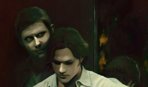 sam and lucifer picture part by Gregory-Welter