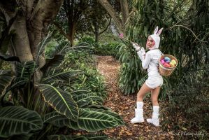 Cottontail Teemo - League of Legends by AurieBit
