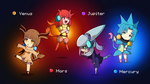 The Elemental Stars (Use Free) by Alulle