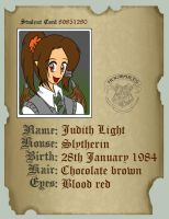 Hogwarts Student Card by IllusionEvenstar