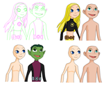 Teen Titans Base-On a date? by ArrghItsABaseAccount