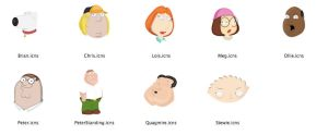 Family Guy Icon Set by unlimiteditions