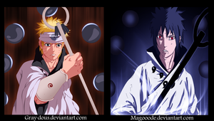 Naruto And Sasuke Sanin by Magooode