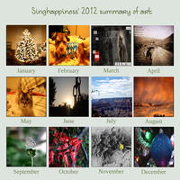 2012 summary of art by singhappiness