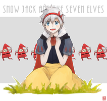Snow Jack and the seven Elves by Kur0-sakura