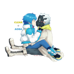 DMMD - Aoba n Clear yay by Tofucakes