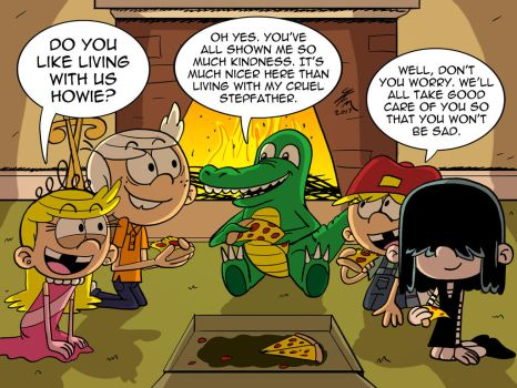 Commission: Howie and the Loud Kids by JFMstudios