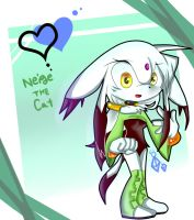 Com: Neige the cat by Melky9714