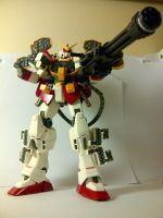 XXXG-01H Master Grade Heavyarms Gundam by Draw-Over