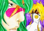 Neliel think about the 3 by oOLupalacrimaOo