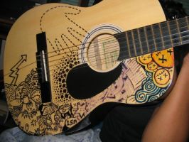 my gitara, guitar by jecojara