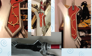 Red Queen Sword for Cosplay by MJ-Cosplay