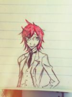 Young Grell Drawing by CoffeeSugar