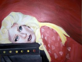 Hedwig-Painting by LoveOnAprilFools