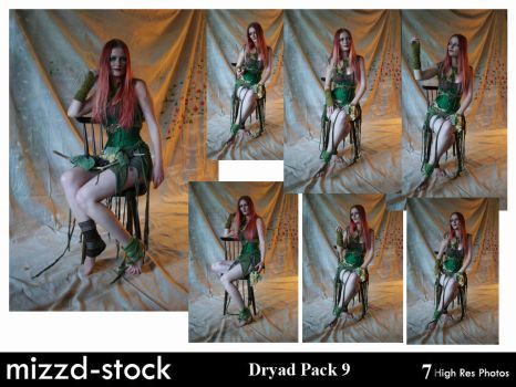 Dryad Pack 9 by mizzd-stock