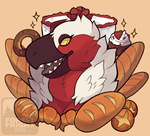 bakery bird by ForestFright