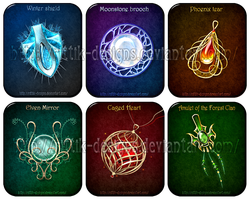 Magic items adopts 3 (CLOSED) by Rittik-Designs