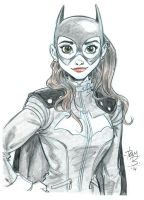 New Batgirl again by tombancroft