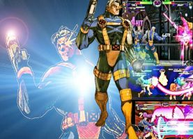 Marvel vs Capcom 2 Enter Cable by edwards1206