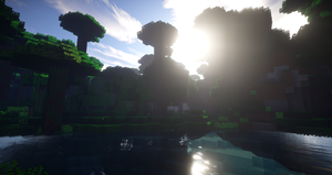 Minecraft Jungle River by YoshiOG1