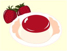 Pudding - Strawberry by XueY1806