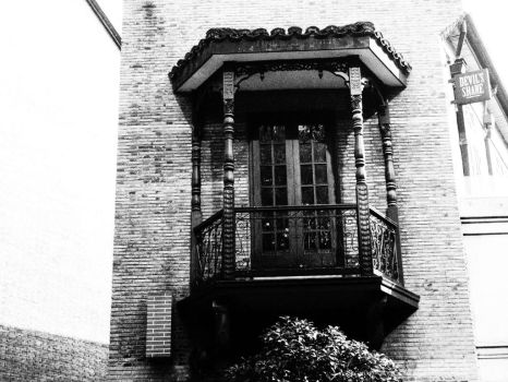Old balcony by enter741002
