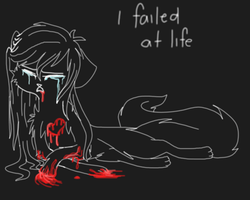 I failed at life... by Skittles-the-kitty