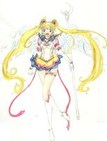 Eternal Sailor Moon by MistressLegato