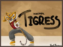 Furious Five : Master Tigress by Klika-lio